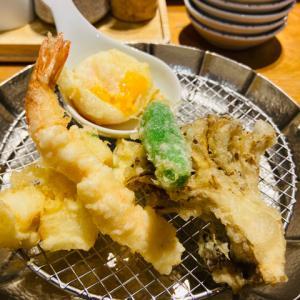 天ぷらめし金子半之助日本橋店 穴子を食べるべし!カウンターで気軽にランチ【メニューあります】