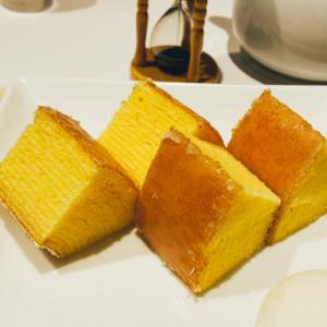 日本橋三越本店【クラブハリエBスタジオ】イートインで出来立てふわふわのバームクーヘンを食べよう!