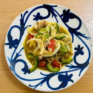 ホットクックでゴーヤを使った簡単レシピ!チャンプルーと鯖缶カレー味