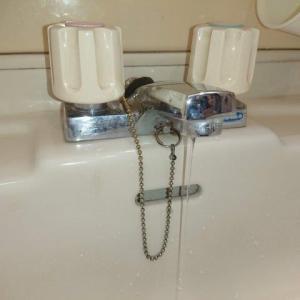 洗面台混合栓パッキン交換
