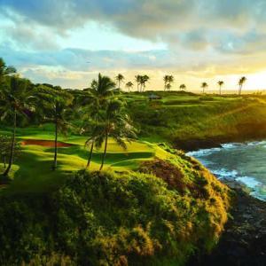 カウアイ島のゴルフコースが3年連続でハワイベストコースに選ばれた!