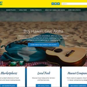 Buy Hawaii, Give Alohaでローカル企業を支援