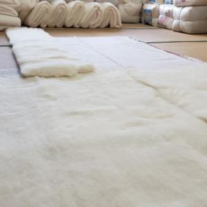 寝具製作事例No.139『ベッド用(敷パット)綿敷ふとん』
