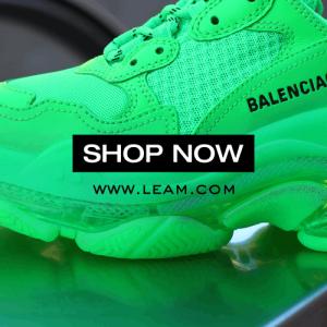 【LEAM(リアム)】Balenciaga,OFFWHITE等ブランド商品オンラインストア