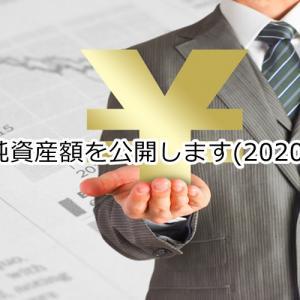 純資産額を公開します(2020)