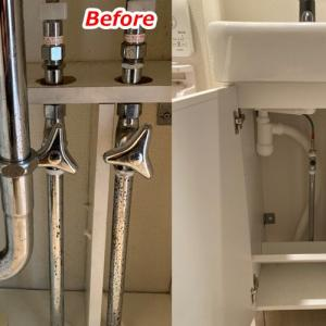 洗面台一式を交換した手順と費用公開