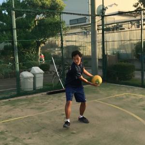 メディシンボールを使ったトレーニング