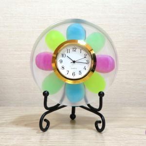 カラフルビーンズの置き時計【新しい紙幣、ダサい?】