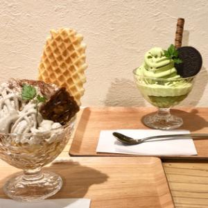 【丹霞堂(たんかどう):富山市】モンブランプリンパフェ&抹茶パフェを食べてみました