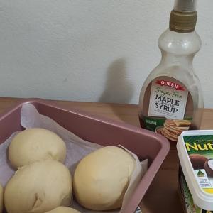 パン作り  ミルクパン&シナモンロール
