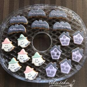 アイシングクッキー講師作品 ~ハロウィンまだまだ準備中✽やっとご挨拶に♡久しぶりに…~