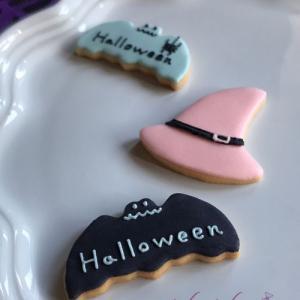 アイシングクッキー講師作品 ~こんなお色のハロウィンは?✽本日カルチャー教室の募集締め切り日♡~