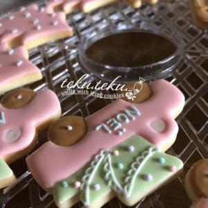 アイシングクッキー講師作品 ~何にしようかな✽悩み思案クリスマス✽ご縁に感謝~