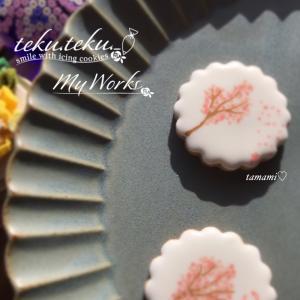 アイシングクッキー講師作品 ~sa・ku・ra icingCookie✽お家de時間を過ごす♡~