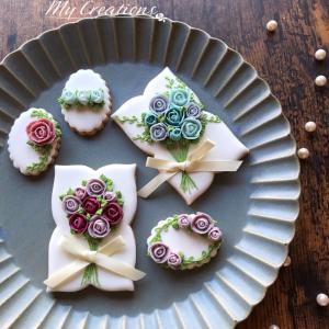 【レッスンご案内・募集】 ~8月お花絞り①✽しっかりお花を作れるようになりたいです♡~