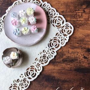 【アイシングクッキー講師作品】 ~ほんの気持ち♡贈り物にも✽可愛い角砂糖♡~