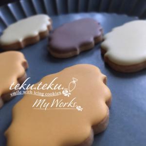 【アイシングクッキーtamami♡作品】 ~きれいに塗り込むコツ✽楽しくその先にワクワク♡~