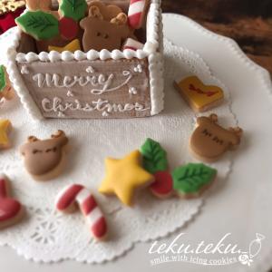 【アイシングクッキーtamami♡作品】 ~クリスマスアイシングを小さなボックスに詰め込んで♡~