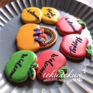 【アイシングクッキーtamami♡作品】 ~ずっと見てしまうアイシングクッキー♡~