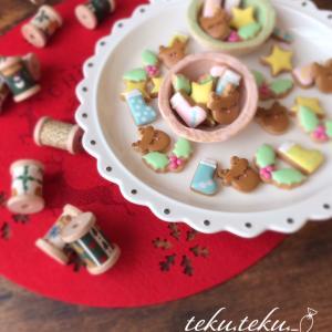 【アイシングクッキーtamami♡作品】 ~色んな所で季節を感じながら♡ミニミニアイシング~