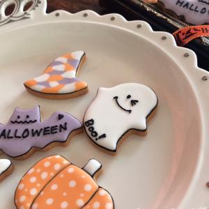 【アイシングクッキー作り体験ご案内】 ~10/31(日)今年最後のハロウィン♡お席わずかです♡~