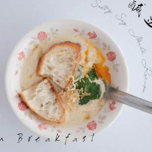 【鹹豆漿】忙しい朝でもちゃちゃっと!シェントウジャン簡単レシピ【台湾朝ごはん】