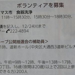 札幌市のボランティア、これ本当に応募する人いるの?