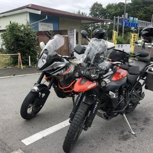 梅雨の突発福島ツーリング