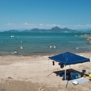 らららサンビーチ 足保海水浴場 (西伊豆の海水浴3)