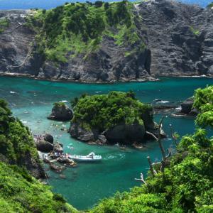 トガイ浜 ヒリゾ浜(南伊豆の海水浴8)