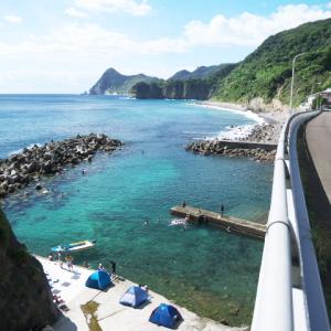 南伊豆の海11(子浦海水浴場 落居海岸 伊浜海岸 波勝崎海水浴場)