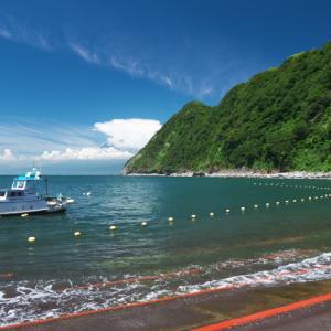 井田海水浴場 御浜海水浴場 (西伊豆の海水浴5)