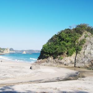 吉佐美大浜海水浴場 舞磯浜 碁石ヶ浜海岸 田牛海水浴場 (南伊豆の海水浴5)