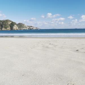 逢ヶ浜海岸 弓ヶ浜海水浴場 (南伊豆の海水浴6)