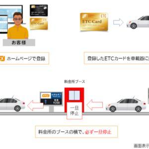 1日(木)より伊豆中央道・修善寺道路でETCX始まります