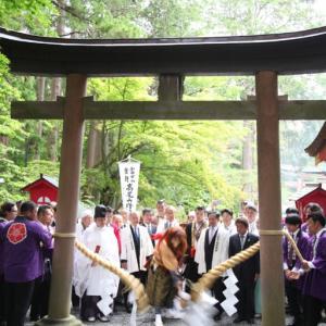 30日(水)の 富士吉田の富士山開山前夜祭は規模を縮小して開催