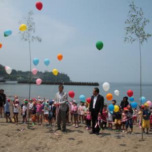 17日(土)に土肥海水浴場海開き式開催予定