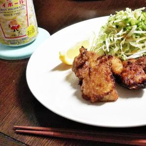 どうにも焦げる人は必見!!『基本の鶏のから揚げ』with 『秋だからさつまいもの天ぷら』 おまけお弁当の作り置き、自家製冷凍『チキンカツ』