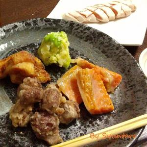 おうち居酒屋『ワンプレートおつまみ』~砂肝塩から揚げのレシピ~【砂肝・砂ずり・鶏料理・揚げ物】