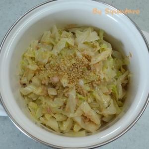 【簡単・レンチン】麺つゆとお酢で作る『やみつきツナきゃべつ』