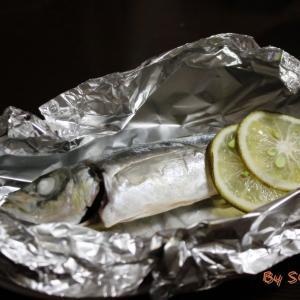 【トースター・簡単】『鯵のホイル焼き~大分かぼす風味~』~おおいたクッキングアンバサダー~