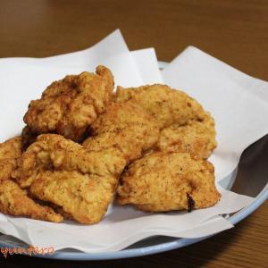 卵衣でふわサクッの『鶏むね肉のフライドチキン』