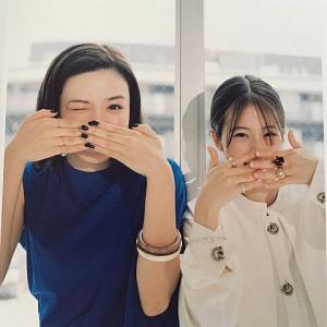 永野芽郁&今田美桜、距離をとっても仲良しな2ショットに