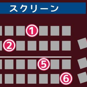 映画の座席皆ならどこに座る?