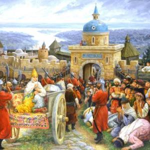ロシア史重要用語解説!「カザン・ハン国」