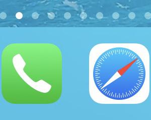 iPhoneOSアップデートしたらLINEアイコンがグレーに