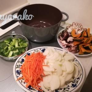 【無加水鍋で重ね煮】アレンジ4種!肉団子の野菜あんかけ・キッシュ・豆腐ソテーの肉野菜あんかけ・カレー