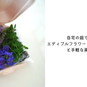 自宅の庭で育てるエディブルフラワー(食べられる花)と手軽な楽しみ方