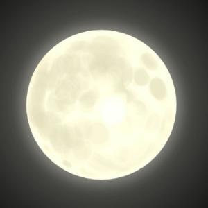 射手座満月の部分月食
