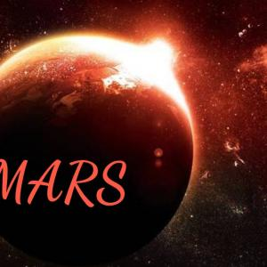 火星が獅子座に入りました